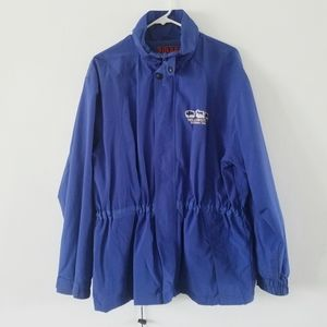 Vintage Polar Graphic USA blue utility jacket L
